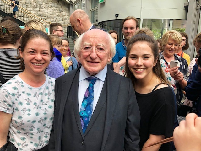 Gaca and President of Ireland