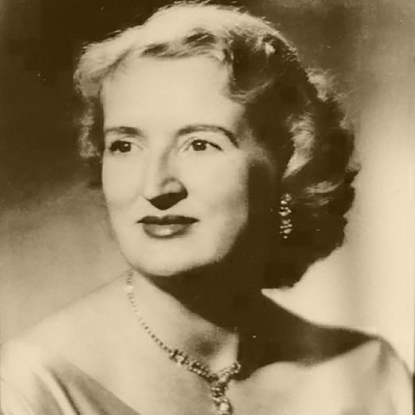 a vintage portrait of a woman